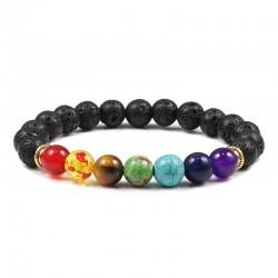 Náramek z kamenů Rainbow