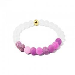 Náramek z kamenů Elegant Růžový