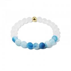 Náramek z kamenů Elegant Modrý