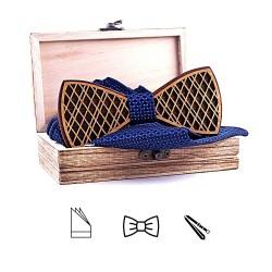 Vyřezávaný dřevěný motýlek Classic