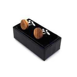 Dřevěné manžetové knoflíčky