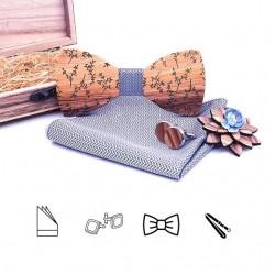SET Dřevěný motýlek - větvičky